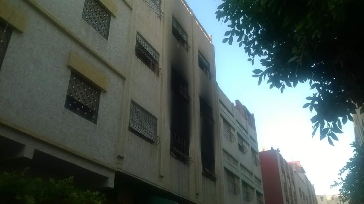 """شاحن كهربائي يتسبب في حريق هائل بمنزل في حي """"بنكيران"""""""