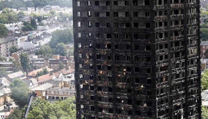 شقق فاخرة للمغاربة ضحايا حريق برج لندن
