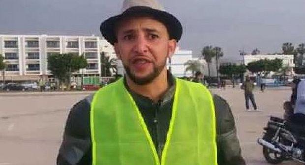 """هذا ما قضت به إستئنافية اكادير على """"ياسين المناضل"""" الذي أحرق جواز سفره مباشرة على الفايسبوك"""