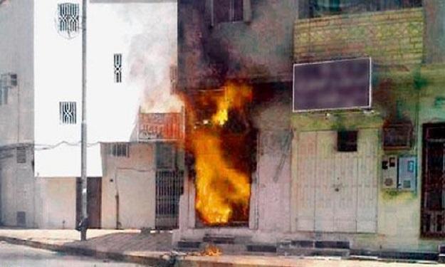 كلميم..خسائر مادية في حريق بمحل لبيع الملابس