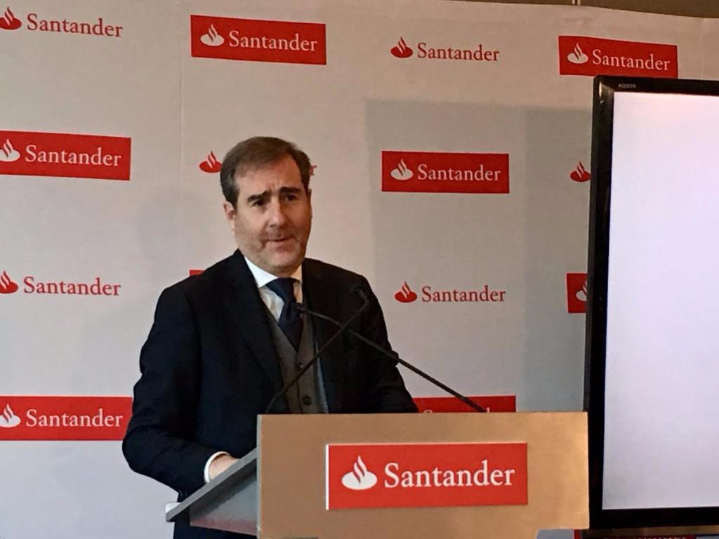 Santander anuncia inversión de $15000 millones en México