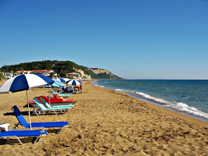 plaje în Corfu
