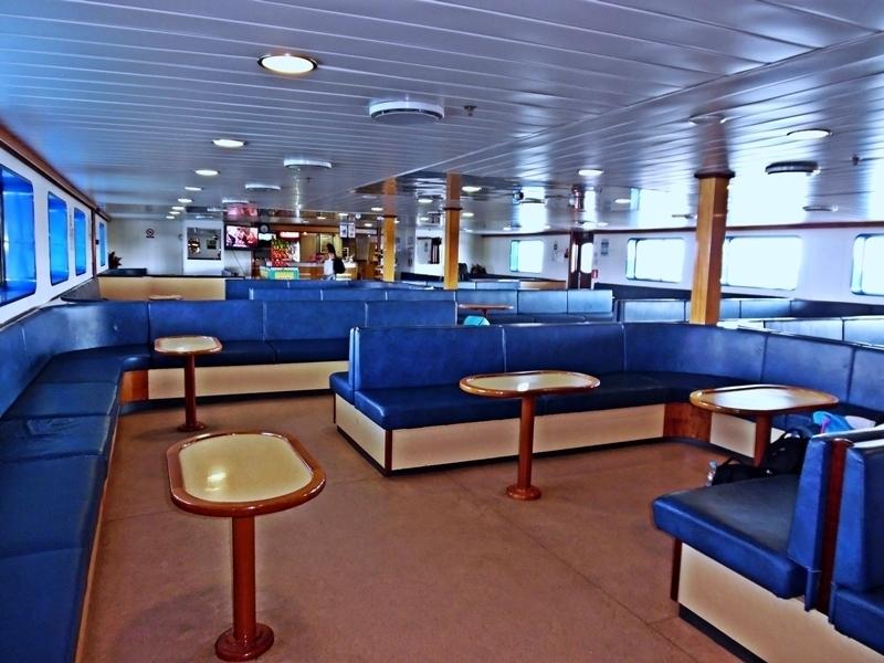 Salon Economy ferry Grecia