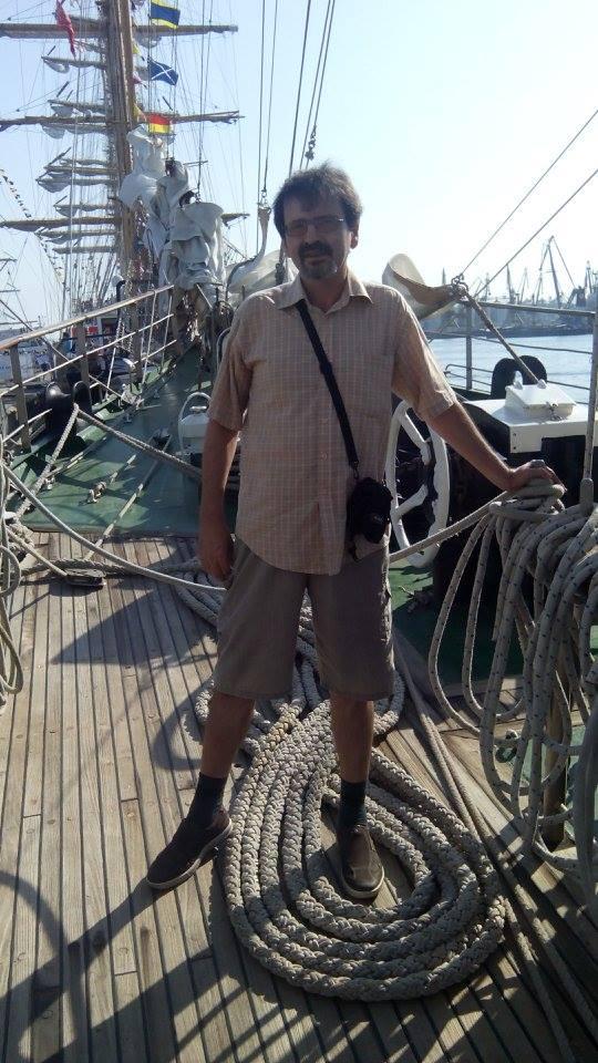 Radu Țuglea la regata marilor veliere