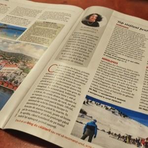 Almona călătorește în revista Ioana