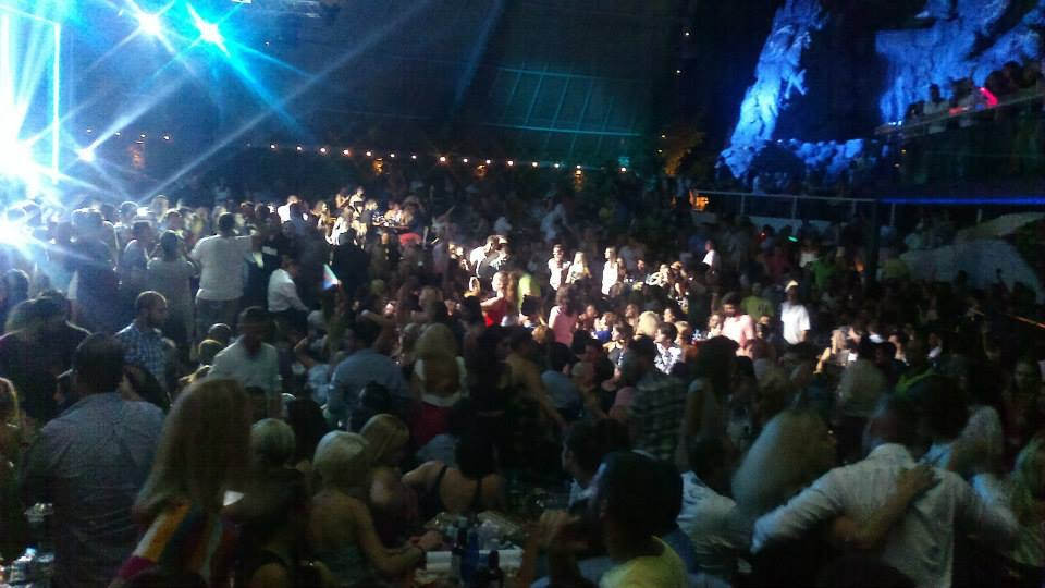 Grecia viața de noapte în cluburile de pe Rivieră