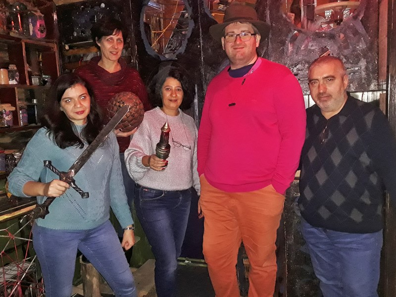 Puzzele Punks Escape room Brașov
