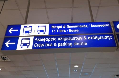 transportul public în Atena