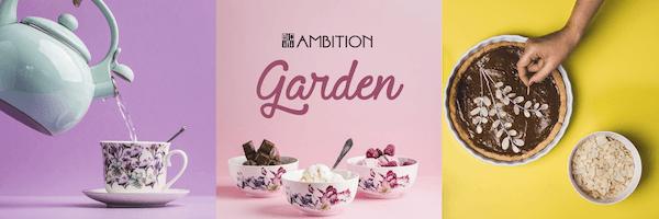 veselă ambition garden
