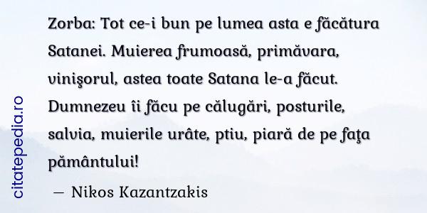 Zorba Grecul citat