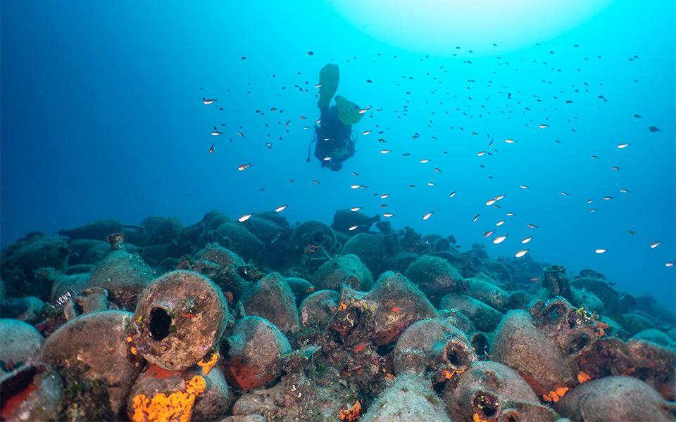 epava din Peristera primul muzeu subacvatic Grecia