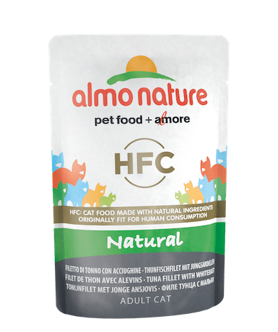 HFC Natural Filetto di tonno con acciughine
