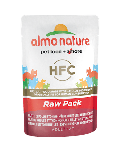 HFC Raw Pack Filet de poulet et thon