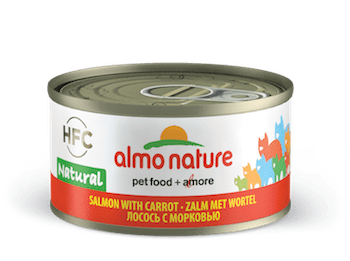 HFC Natural Salmon with carrot