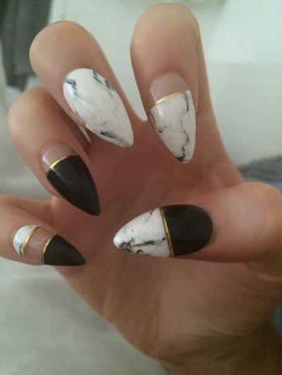 shape nails step