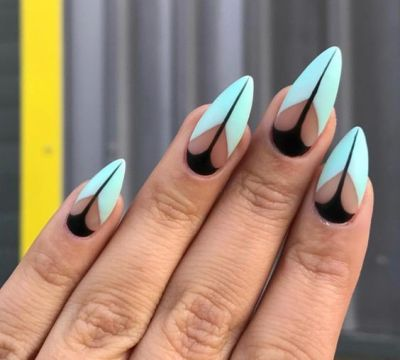 30 of the hottest  must have almond nail designs for 2020