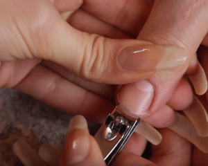 How to shape nails at home with nail cutter