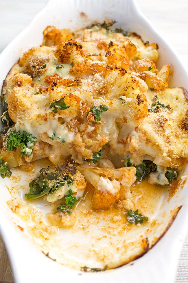 Lebanese Cauliflower Cheese