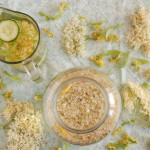 Flavoured Water: Elderflower Lemon and Linden Blossom Cucumber