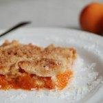 Apricot Shortbread Crisp