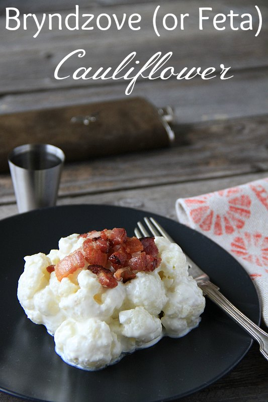 Bryndzove (or Feta) Cauliflower