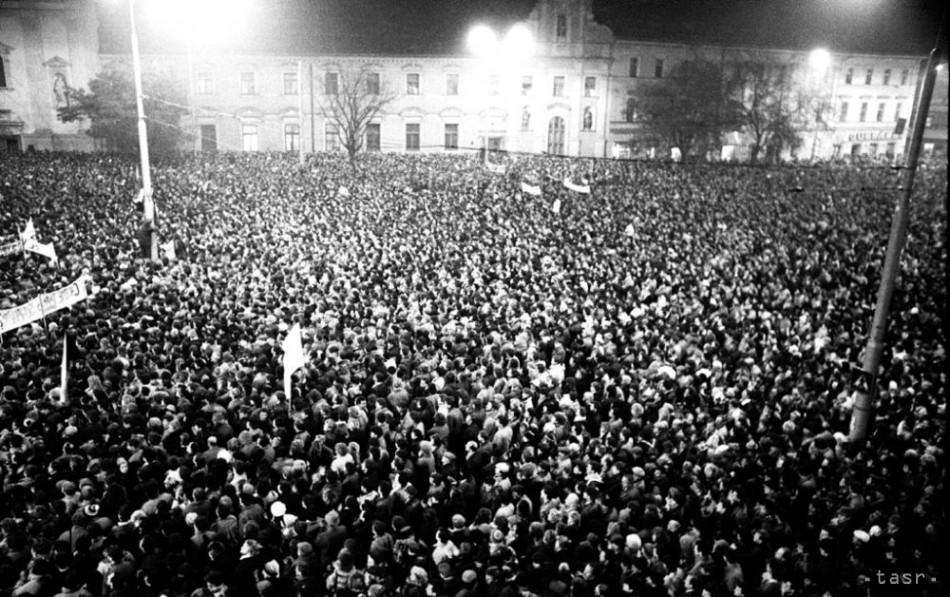 Velvet Revolution, Bratislava