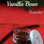 Toasted Vanilla Bean Powder