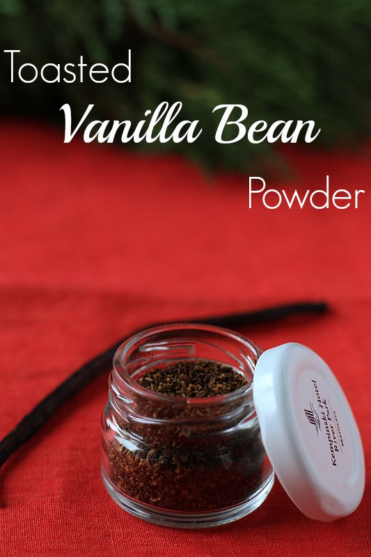 Toasted Vanilla Bean Powder