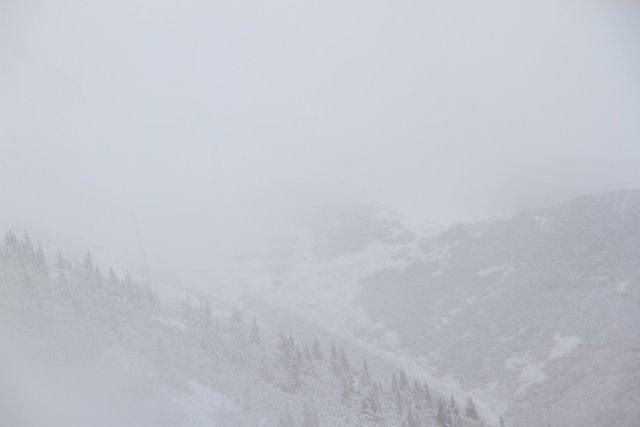 Snow on the trail near Chata M.R.Štefánika, a chalet in the Low Tatra (Nizke Tatry) mountains of Slovakia - Almost Bananas