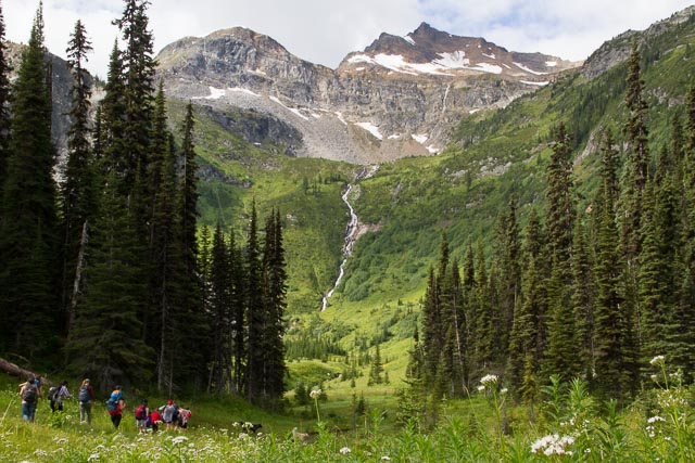 Mt. Trudeau trail, Valemount, BC, Canada