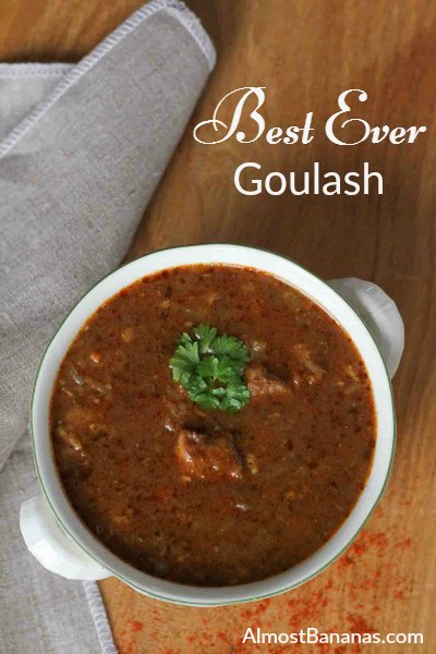 Best Ever Goulash - Almost Bananas blog