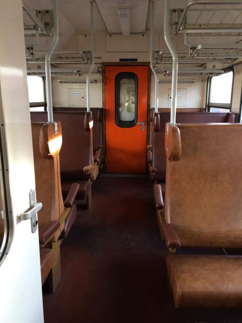 Train in Slovakia - Almost Bananas blog