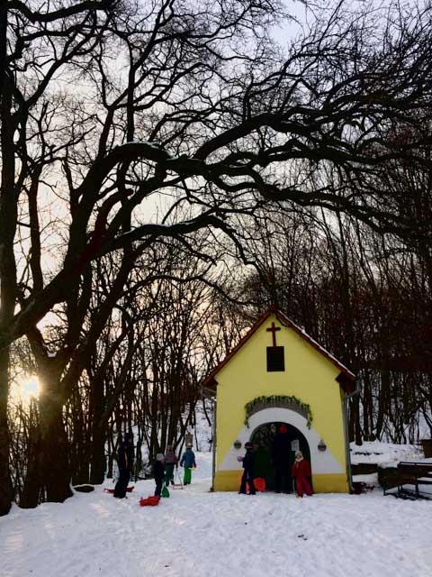 Winter in Slovakia - Almost Bananas blog