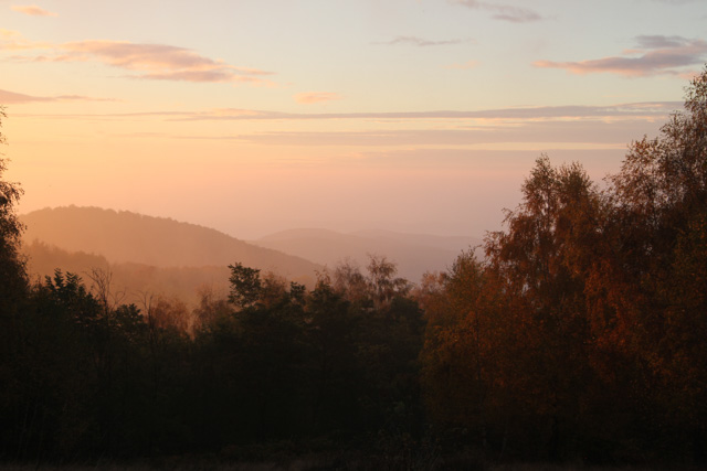 sunrise near dubakovo