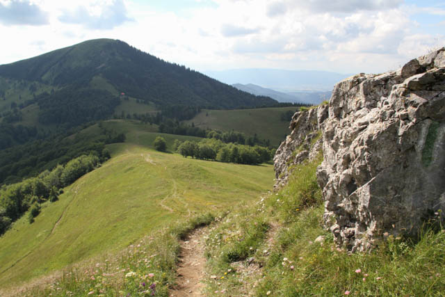 Trail to Chata Borisovom