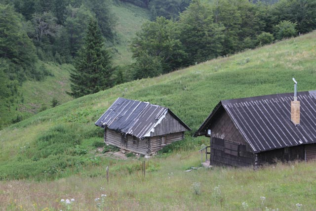 Two shepherd cabins