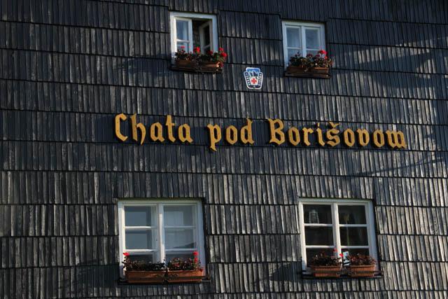 Chata pod Borisovom, Velka Fatra