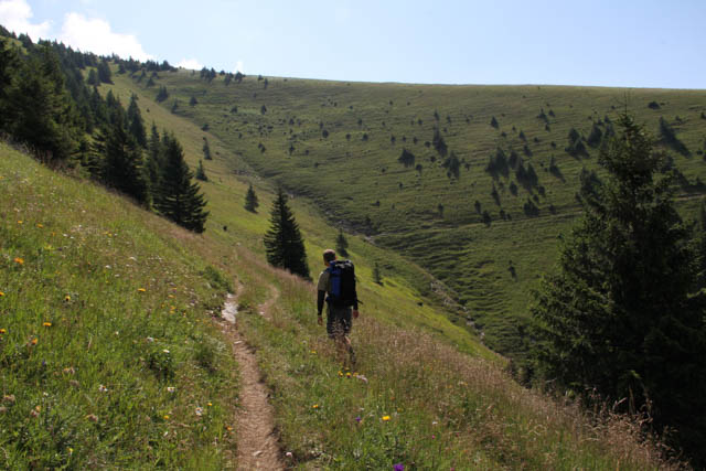 Hiking around Ploska, Slovakia