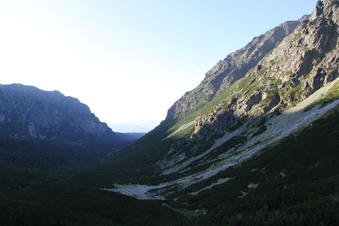 Other side of Mangusova dolina