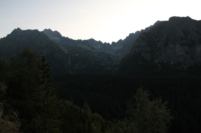 Early morning in the High Tatras