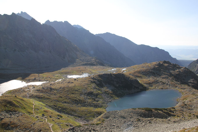Male Hincovo Pleso in the High Tatras, Slovakia