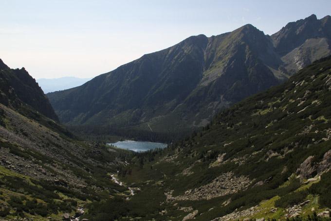view of Popradske Pleso