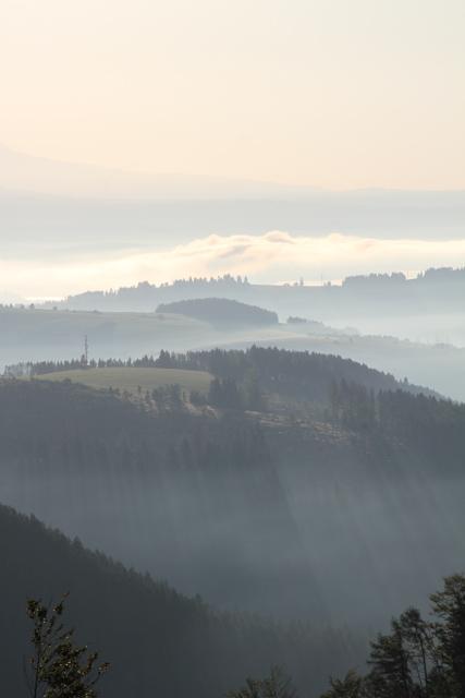 Mountains in the Liptov area of Slovakia