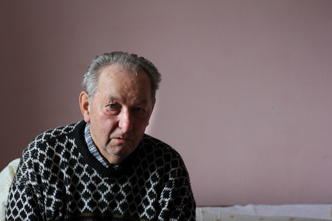 An older Slovak man