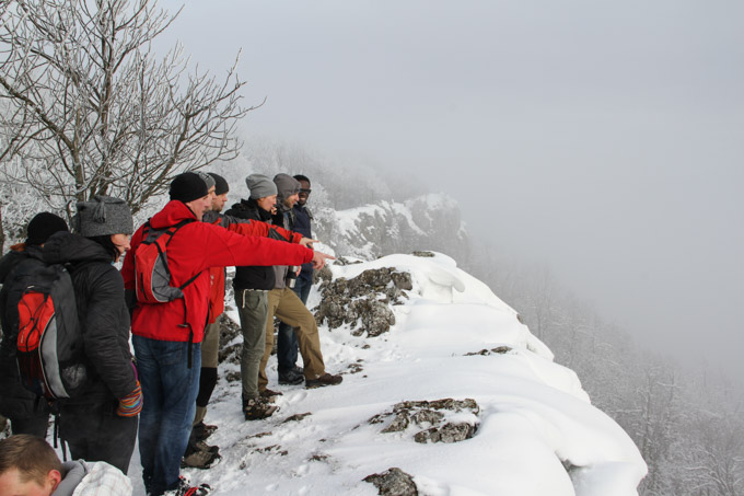 On top of Cierna Skala