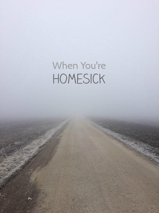 When you're homesick - 7 ways to deal