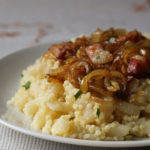 Opantance: Slovak millet and gnocchi with caramelized onions