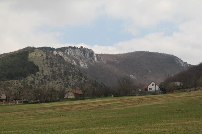 Krselnica, above Plavecky Mikulas, Slovakia