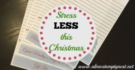 Stress LESS this Christmas