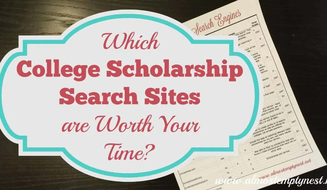 Which College Scholarship Search Sites Are Worth Your Time?